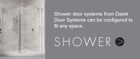 shower doors systems fit any space