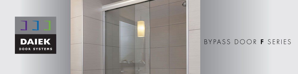 frameless glass bypass shower door