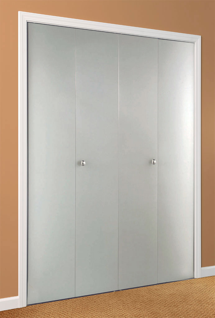 Flush Bifold Metal Door