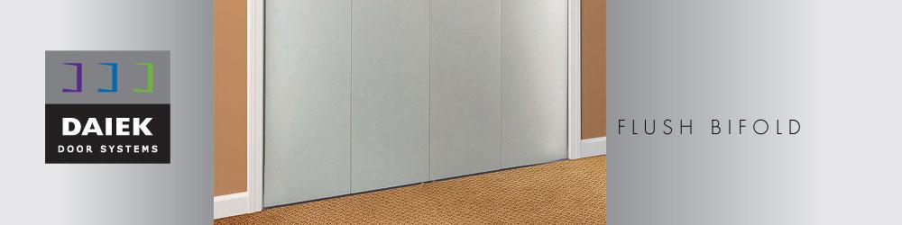 metal flush bifold door