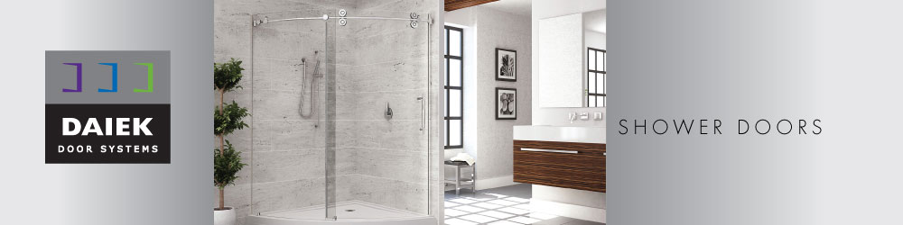 glass shower doors & Shower Doors | Daiek Door Systems