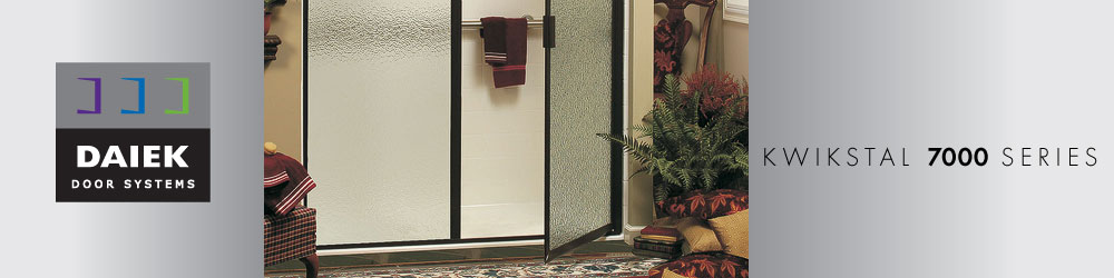 framed swing glass shower door
