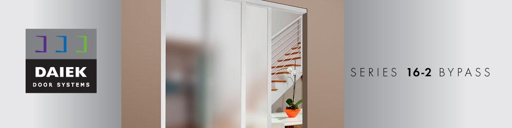 top mount sliding glass door series 16-2