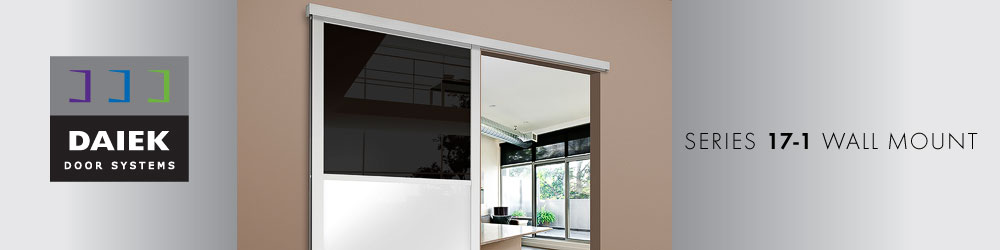 wall mount sliding glass door series 17-1
