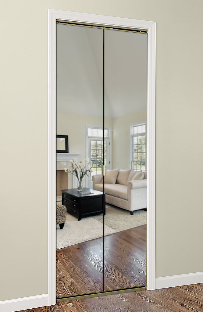 Series 4002 Bifold Mirror Door Series 4002 : mirror doors - pezcame.com