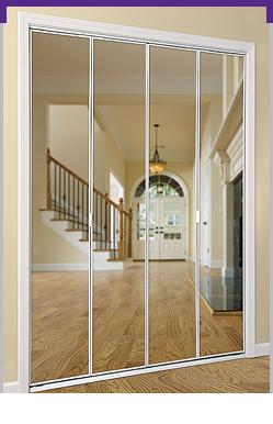 Series 4003 Bifold Mirror Door Daiek Door Systems