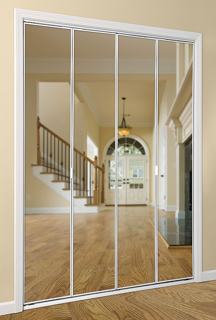 Series 403 Bifold Mirror Door Series 4003 & Mirror Doors | Daiek Door Systems