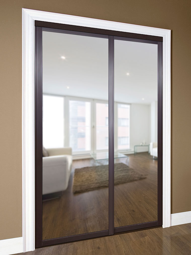 Series 6 sliding mirror door daiek door systems for Sliding mirror doors