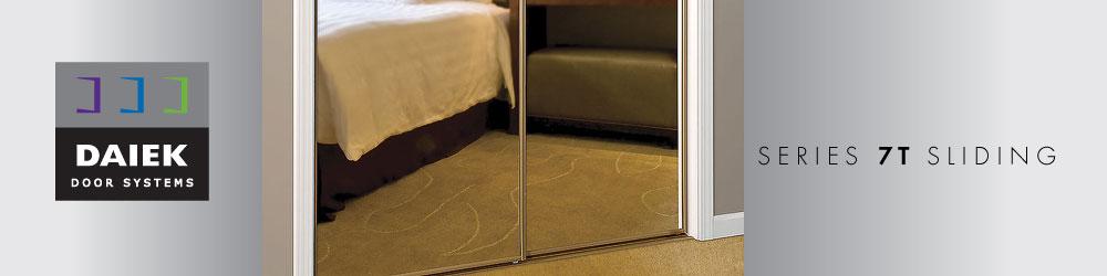 sliding mirror door series 7T