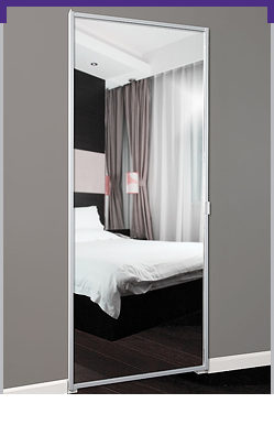 Series 9 Swing Mirror Door
