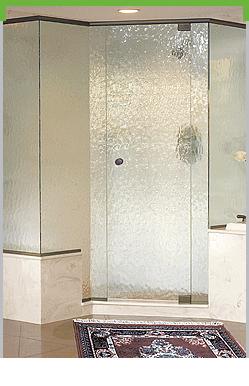 Vision Frameless Pivot Shower System