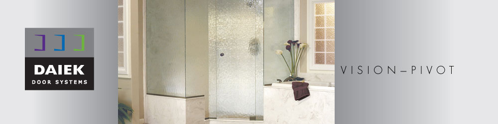 euro pivot glass shower door