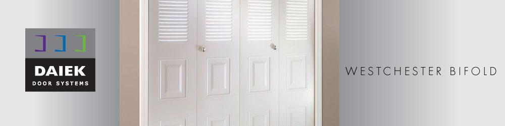 metal westchester bifold door